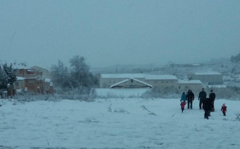 gente nieve
