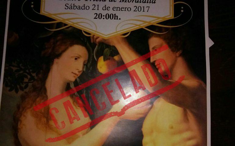 teatro cancelado